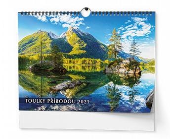 Náhled produktu Nástěnný kalendář Toulky přírodou 2020