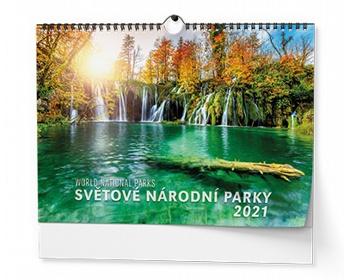 Náhled produktu Nástěnný kalendář Světové národní parky 2021