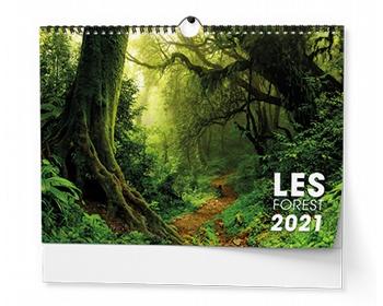 Náhled produktu Nástěnný kalendář Les 2021