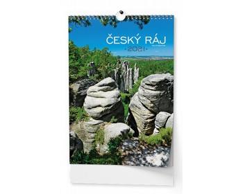 Náhled produktu Nástěnný kalendář Český ráj 2021