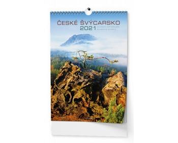 Náhled produktu Nástěnný kalendář České Švýcarsko 2020