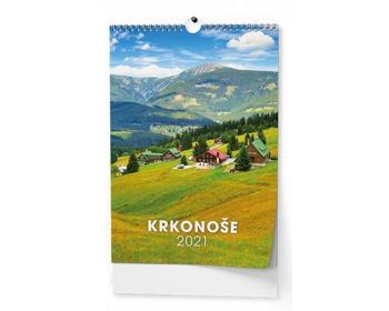 Náhled produktu Nástěnný kalendář Krkonoše 2021