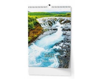 Náhled produktu Nástěnný kalendář Řeka čaruje 2021