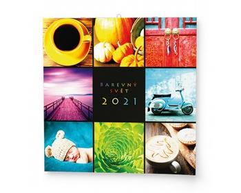 Náhled produktu Nástěnný kalendář Barevný svět 2021