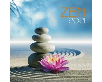 Náhled produktu Nástěnný kalendář Zen 2021