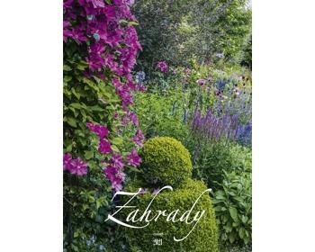 Náhled produktu Nástěnný kalendář Zahrady 2021