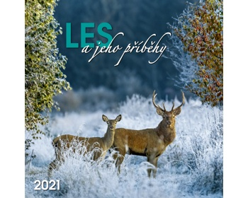 Náhled produktu Nástěnný kalendář Les a jeho příběhy 2021