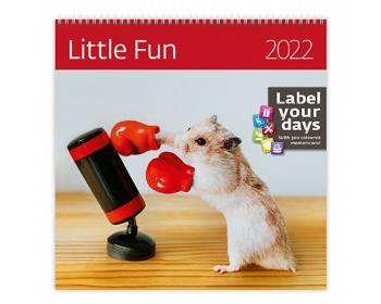 Náhled produktu Nástěnný kalendář Little Fun 2022