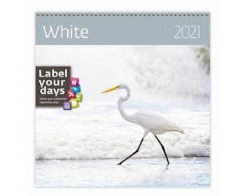 Náhled produktu Nástěnný kalendář White 2021