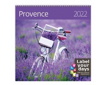 Náhled produktu Nástěnný kalendář Provence 2022