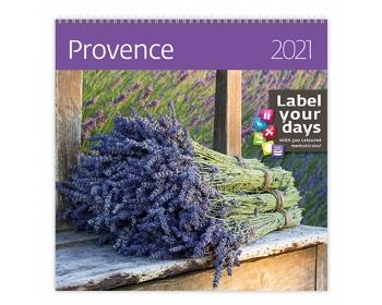 Náhled produktu Nástěnný kalendář Provence 2021