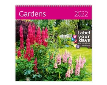 Náhled produktu Nástěnný kalendář Gardens 2022