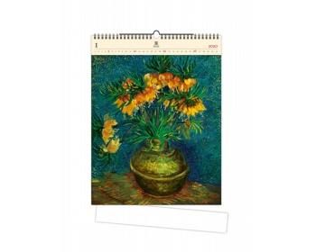 Náhled produktu Luxusní dřevěný nástěnný kalendář Vincent 2020