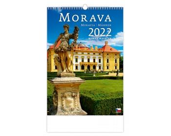 Náhled produktu Nástěnný kalendář Morava/Moravia/Mähren 2022