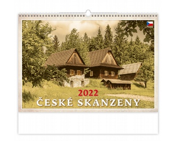 Náhled produktu Nástěnný kalendář České skanzeny 2022
