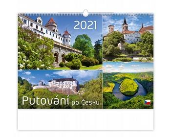 Náhled produktu Nástěnný kalendář Putování po Česku 2021