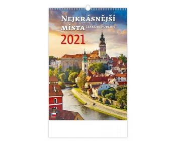 Náhled produktu Nástěnný kalendář Nejkrásnější místa ČR 2021