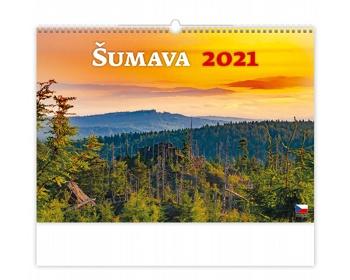 Náhled produktu Nástěnný kalendář Šumava 2021