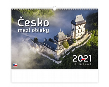 Náhled produktu Nástěnný kalendář Česko mezi oblaky 2021