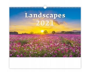 Náhled produktu Nástěnný kalendář Landscapes 2021