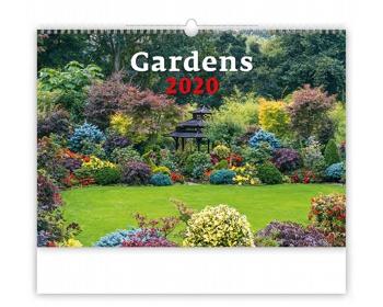 Náhled produktu Nástěnný kalendář Gardens 2020