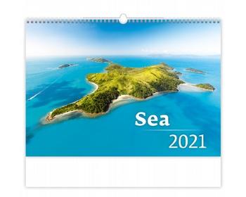 Náhled produktu Nástěnný kalendář Sea 2021