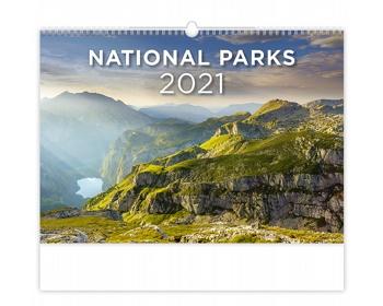 Náhled produktu Nástěnný kalendář National Parks 2021