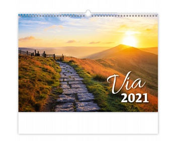 Náhled produktu Nástěnný kalendář Via 2021