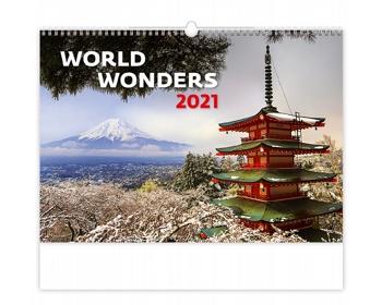 Náhled produktu Nástěnný kalendář World Wonders 2021