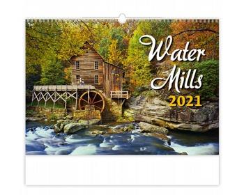 Náhled produktu Nástěnný kalendář Water Mills 2021