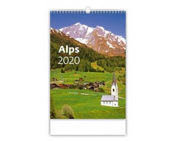 Náhled produktu Nástěnný kalendář Alps 2020