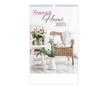 Náhled produktu Nástěnný kalendář Sweet Home 2021