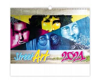 Náhled produktu Nástěnný kalendář Street Art 2021