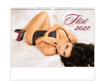 Náhled produktu Nástěnný kalendář Flirt 2021