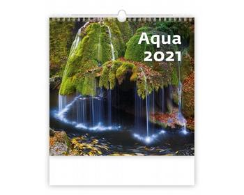 Náhled produktu Nástěnný kalendář Aqua 2021