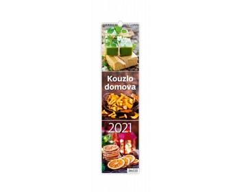 Náhled produktu Nástěnný kalendář Kouzlo domova 2021 - vázanka