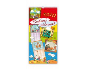 Náhled produktu Nástěnný kalendář Rodinný plánovač 2020