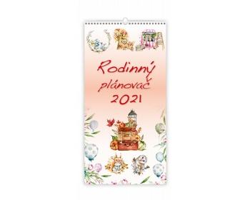 Náhled produktu Nástěnný kalendář Rodinný plánovač 2021