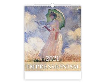 Náhled produktu Nástěnný kalendář Impressionism 2021