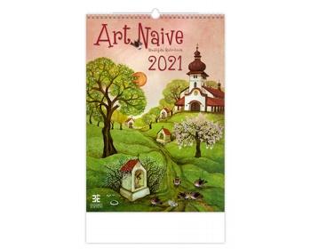 Náhled produktu Nástěnný kalendář Art Naive 2021