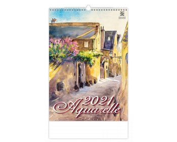 Náhled produktu Nástěnný kalendář Aquarelle 2021