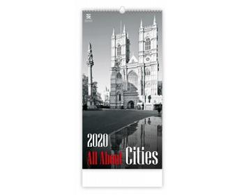 Náhled produktu Nástěnný kalendář All About Cities 2020