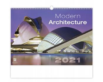 Náhled produktu Nástěnný kalendář Modern Architecture 2021
