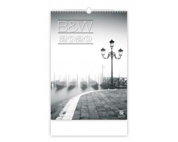 Náhled produktu Nástěnný kalendář B & W 2020