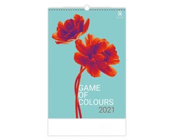 Náhled produktu Nástěnný kalendář Game of Colours 2021