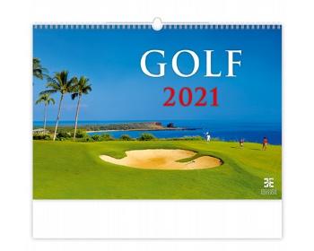 Náhled produktu Nástěnný kalendář Golf 2021