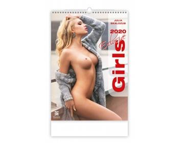 Náhled produktu Nástěnný kalendář Girls Exclusive 2020