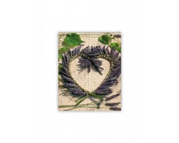 Náhled produktu Luxusní dřevěný nástěnný obraz Heart