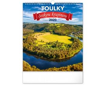 Náhled produktu Nástěnný kalendář Toulky českou krajinou 2020