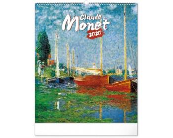 Náhled produktu Nástěnný kalendář Claude Monet 2020